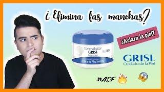 Concha Nacar Grisi - crema facial ¿Funciona?