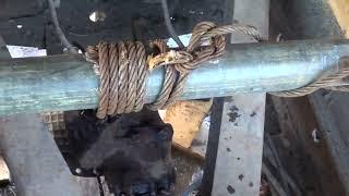 видео Приспособления для снятия и закрепления редуктора ведущего моста