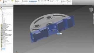 Работни изгледи (Work Views) - Autodesk Inventor