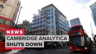 Cambridge Analytica shuts down (CNET News)