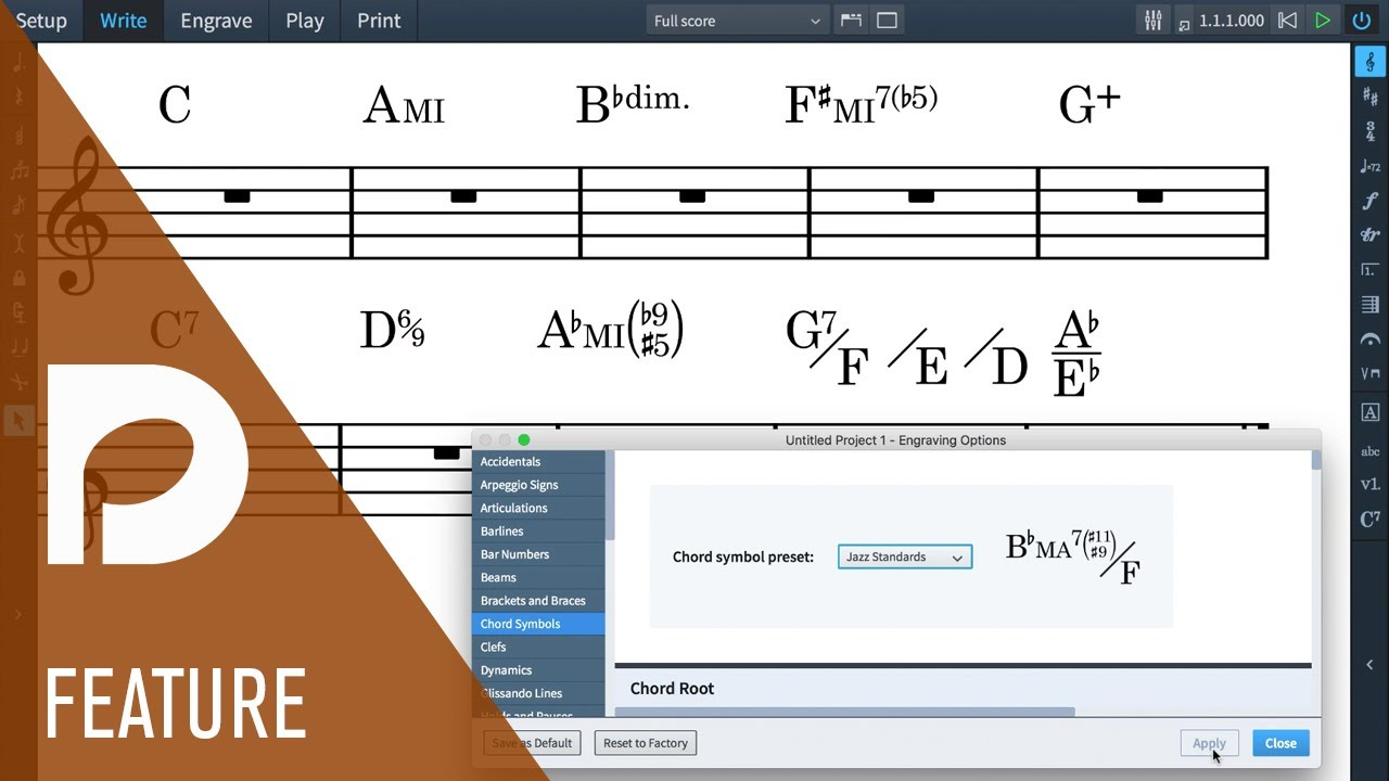 Dorico 1 1 released: chord symbols and more