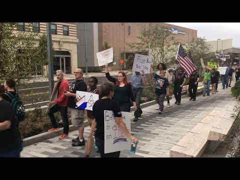 Betsy DeVos helps open MSU research building amid protests