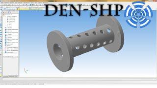 Компас 3D уроки - круговой массив