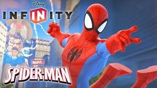 L'HOMME ARAIGNÉE Spiderman Jeux Vidéo de Dessin Animé en Français - Disney Infinity 2.0