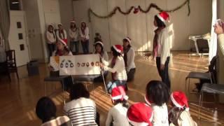 洋光台地域ケアプラザ「ぷらっと」でのクリスマスイベント 歌うはらぺこ...