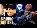 Aprende Como Tocar Blues Estilo B.B.KING: 10 Grandes Licks En Guitarra Eléctrica