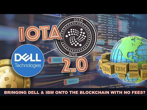 HOW IOTA IS BRIDGING FORTUNE 500 COMPANIES ONTO THE BLOCKCHAIN (DELL & IBM).