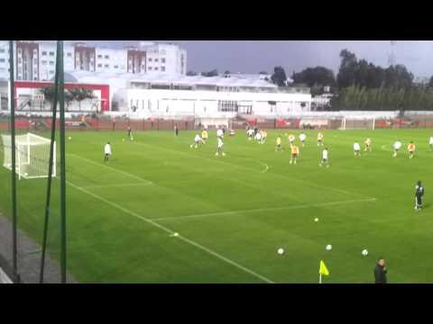 Entrainement De Real Madrid A Rabat 15/12/2014
