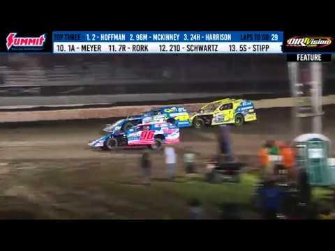 DIRTcar Summer Nationals Modifieds Fairbury Speedway June 23, 2019 | HIGHLIGHTS