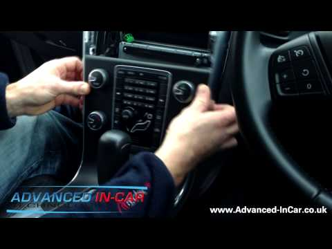 Removing The Volvo V60 (2012) Headunit / Stereo