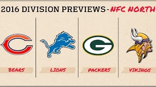 NFC North (2016 Preview) | Move the Sticks | NFL