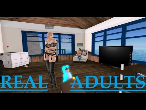 """Second Life: Ted Life """"Real Adults"""" (Trolling)"""