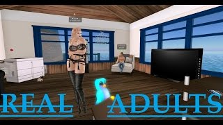 "Second Life: Ted Life ""Real Adults"" (Trolling)"