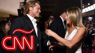 Brad Pitt y Jennifer Aniston: la fascinación sigue vigente y fue lo más destacado de los SAG 2020