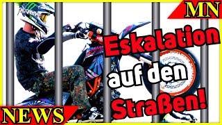 Eskalation auf der Straße - Polizei und Staatsanwaltschaft greift durch   Motorrad Nachrichten