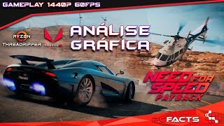 Need For Speed Payback - Análise Gráfica - 1440p - 60FPS - 120Mbps - Ryzen TR 1950x - VEGA 64