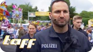Unterwegs mit der POLIZEI beim GRÖSSTEN SCHÜTZENFEST der WELT | taff | ProSieben