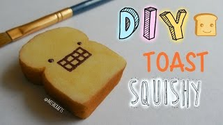 Part 1: Squishier sponges + DIY Toast Squishy