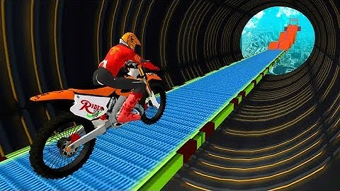 SUPER BIKER SKY TRACK RIDER GAME - Dirt Motor Bike Racing Games For Android - Android Games Download