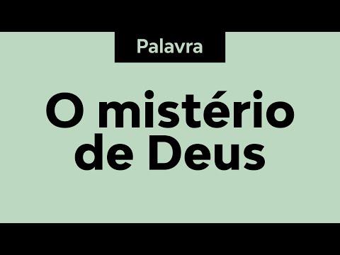 Pastor Pedro Medina - O mistério de Deus