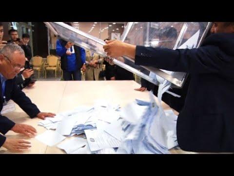 Kazakhstan: le comptage des voix à commencé | AFP Images