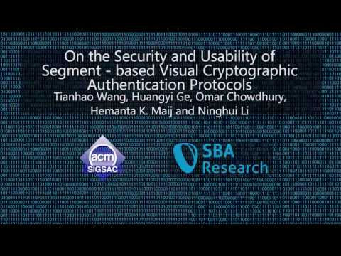On the Security and Usability of Segment-based Visual Cryptographic Authentication Protocols