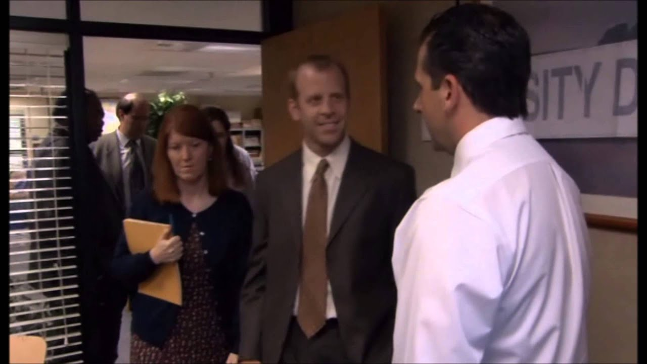 the office the meeting. The Office - Michael Throws Toby Out Of Meeting