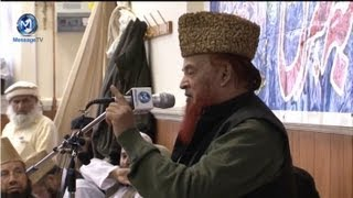 The last grand speech Qari Abdul Hai Abid [RA] Azmat e Sahaba Conference Birmingham 2012