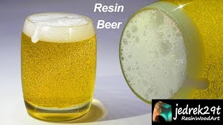 BEER 🍺 from Resin. How to Make Beer from Resin / ART RESIN