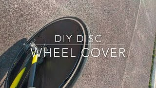 DIY Disc Wheel Cover