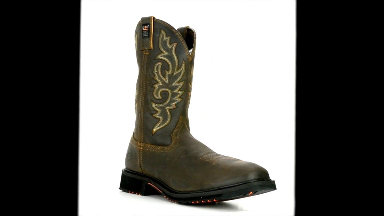 c98f3a69904 Men's Double H Composite Toe Metguard ICE Western Boot DH5126 @  Steel-Toe-Shoes.com