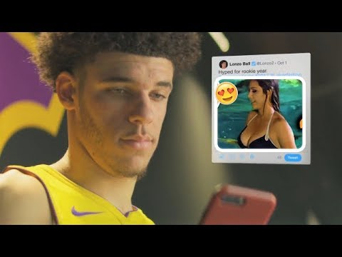 NEW The Best Lonzo Ball Commercials Footlocker, Twitter, NBA (FUNNY)