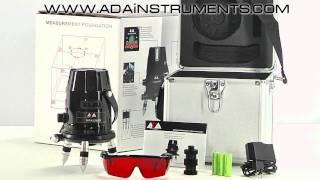 Лазерный нивелир ADA 6D MAXLINER(ADA 6D MAXLINER: лазерный уровень, нивелир, построитель — прочный и легко управляемый, многофункциональный измер..., 2011-10-05T10:30:42.000Z)