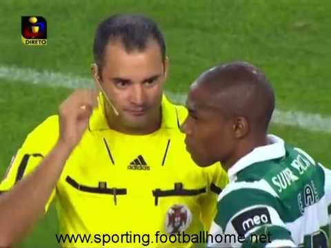 Sporting inicia o jogo contra o Braga só com 10 jogadores em 2011/2012