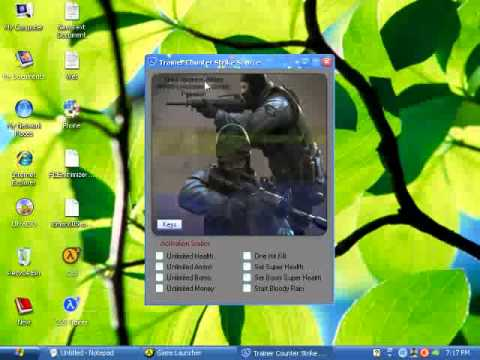 Download & Ativate Counter Strike Source Game Trainer