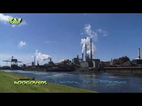 Hoogovens IJmuiden - Royal Dutch Blast Furnaces and Steelworks at North Sea Canal