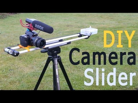 DIY Motorized Camera Slider - Cheap and Simple!