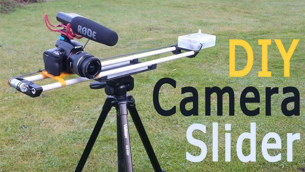 DIY Motorized Camera Slider - Cheap and Simple! - YouTube