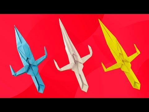 Ninja Sword | Sai - Weapon Origami