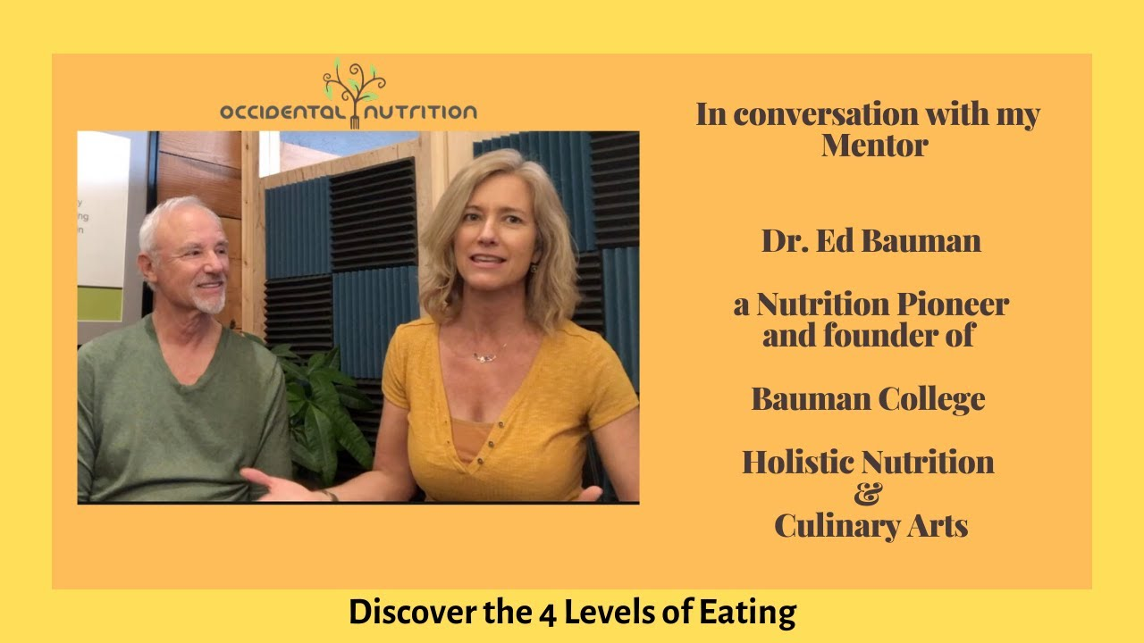 In conversation with Dr. Ed Bauman of