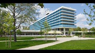 Danubius Hotel Annabella 3 Superior Венгрия Балатонфюред обзор отеля территория для детей