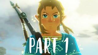 The Legend of Zelda Breath of the Wild Gameplay Walkthrough Part 1 (Nintendo Switch 1080p 60fps)