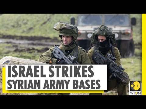Israel strikes Syrian army bases after Golan heights attack | Middle-East | World News