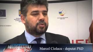 TV NEWS BUZAU - Marcel Ciolacu - despre Regionalizare - Cluj 28.03.2013