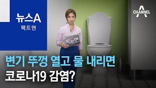 [팩트맨]변기 뚜껑 열고 물 내리면 코로나 감염?…실험…