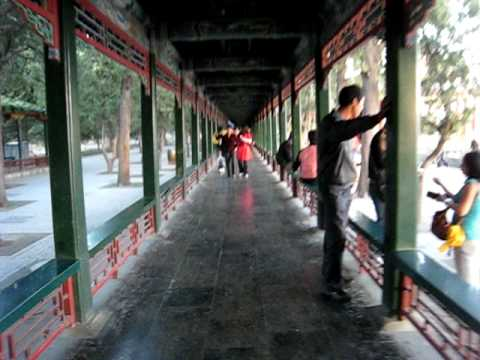 The Long Gallery at the Summer Palace in Beijing