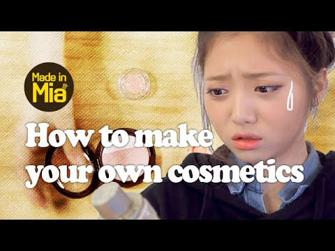 how to make your own cosmetics