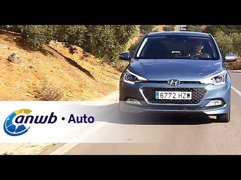 Hyundai I20 Autotest Anwb Auto Youtube