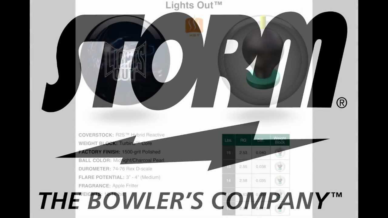 Storm Lights Out Bowling Ball Video By CheapBowlingBalls.com
