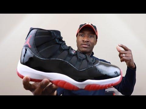 WATCH BEFORE YOU BUY!! 2019 Air Jordan 11 Bred aka Playoffs Full Review